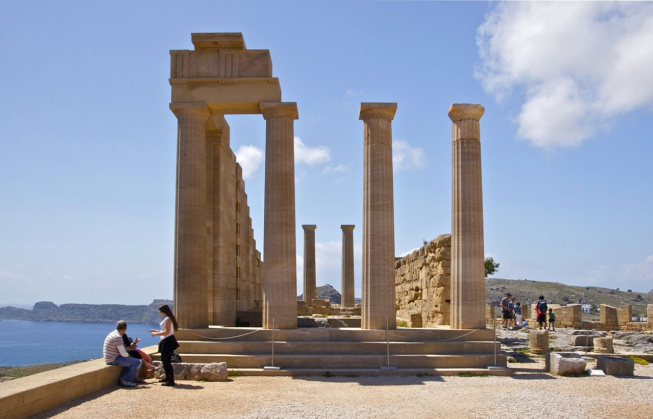Attraction Tourist Place In Rhodes-Acropolis of Rhodes