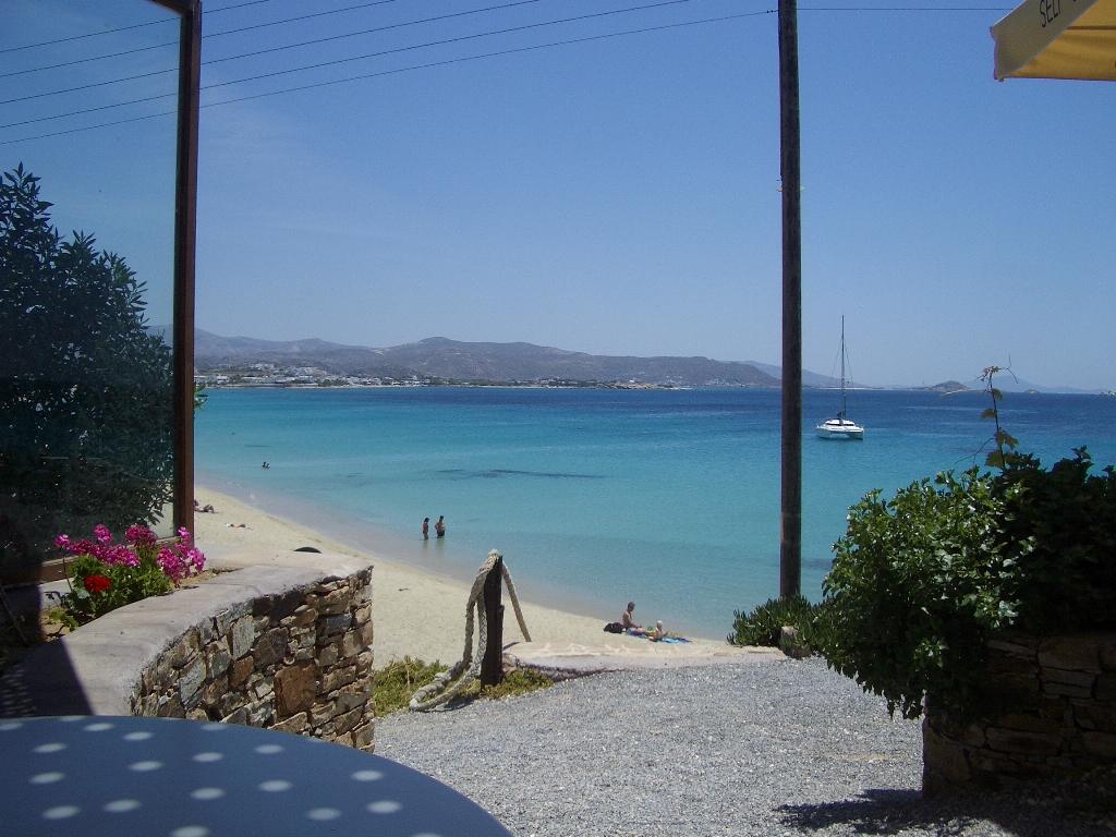 Beautiful Place to Visit in Naxos Island-Agios Georgios Beach