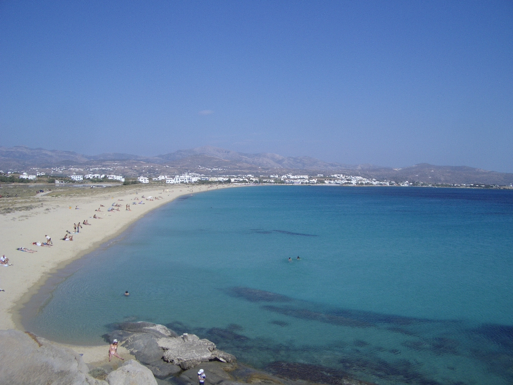 Top Tourist Place in Naxos Island-Agios Prokopios Beach