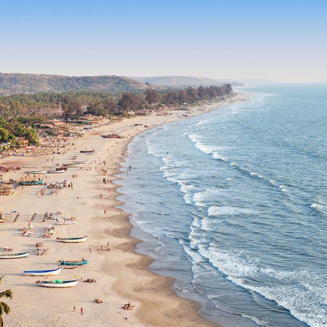 Best Beache in South Goa - Agonda Beach