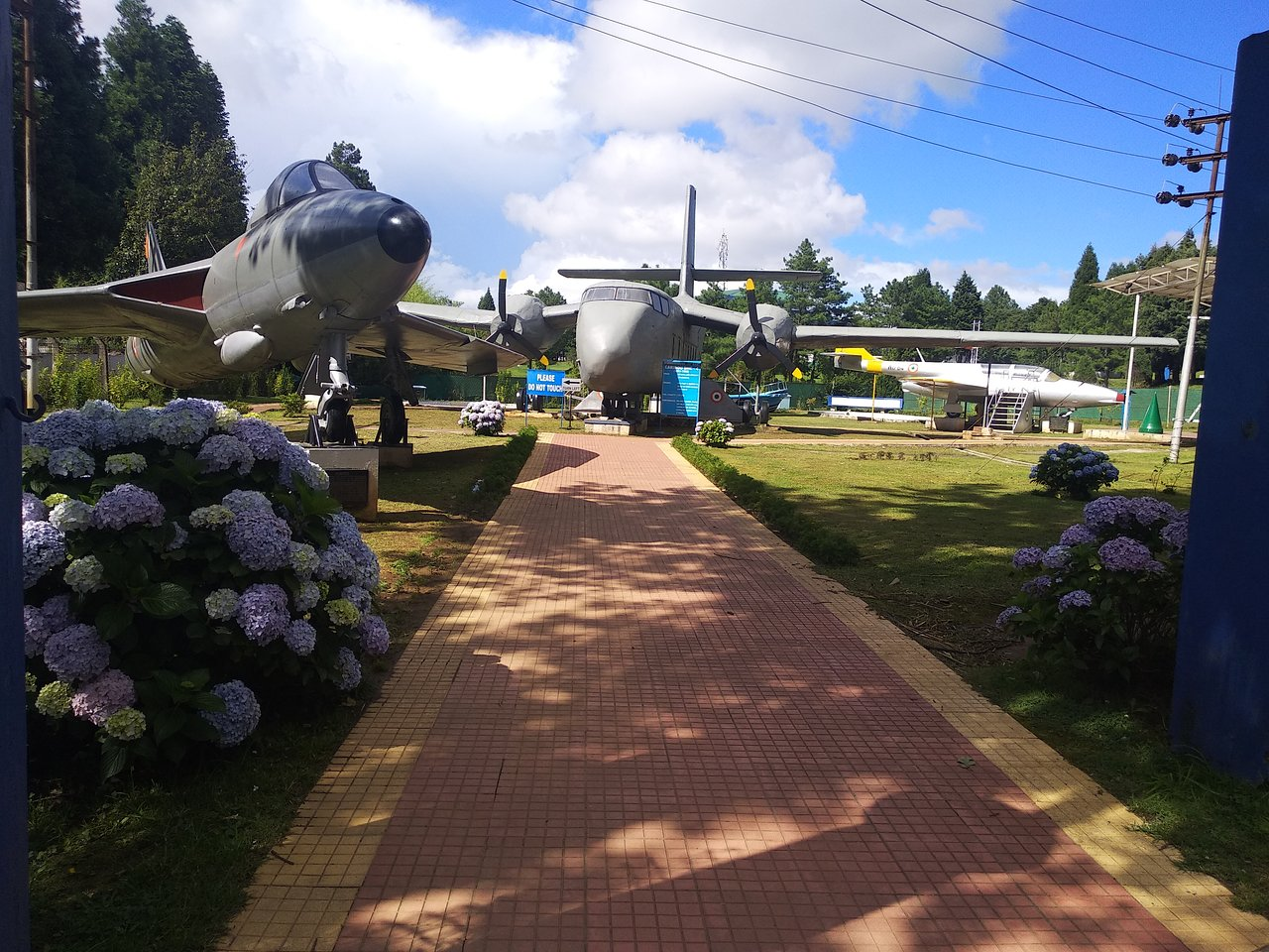 Interesting Place to Visit Near the Ward Lake-Air Force Museum