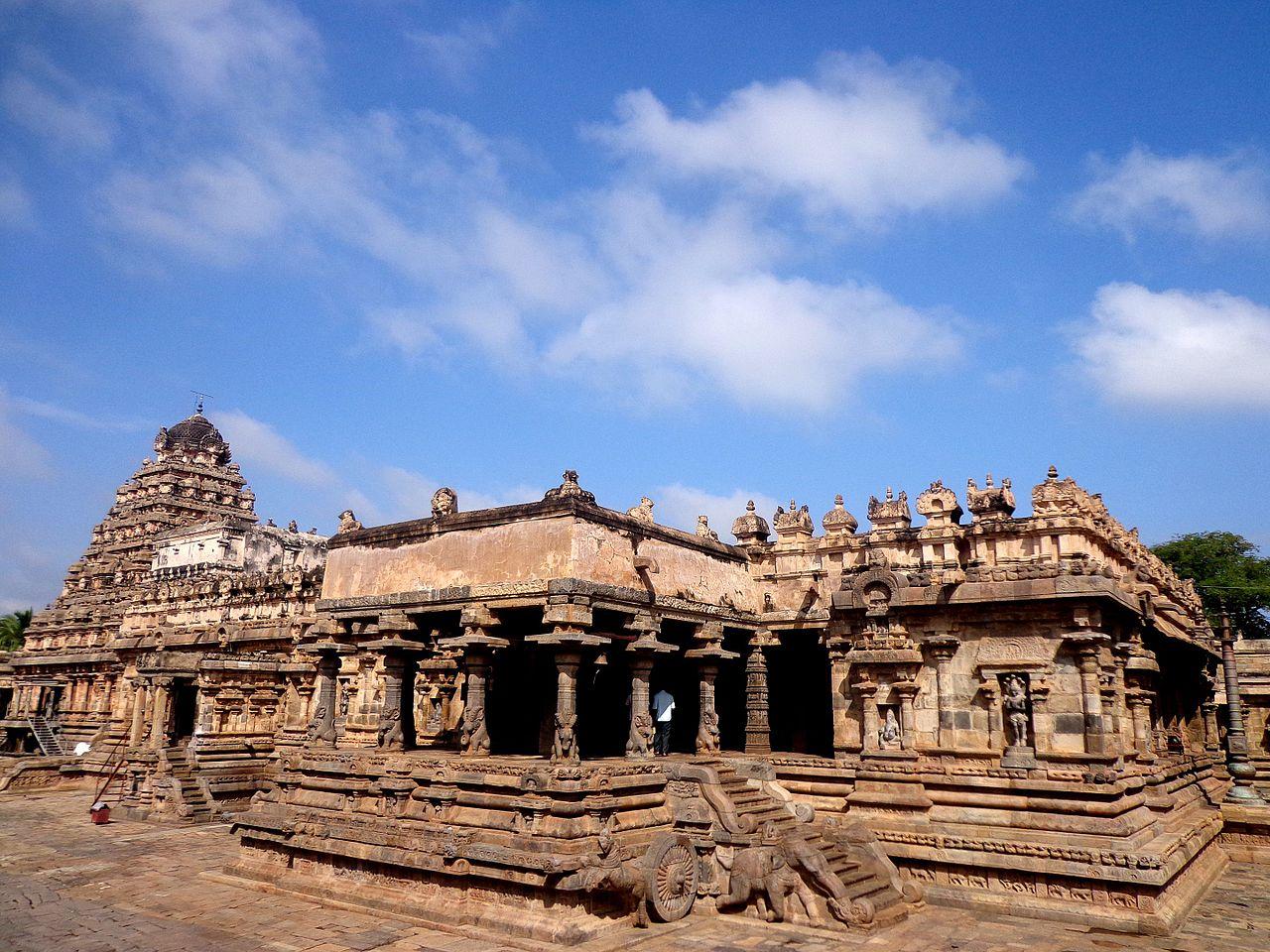 Airavatesvara Temple in Darasuram, Tamil Nadu