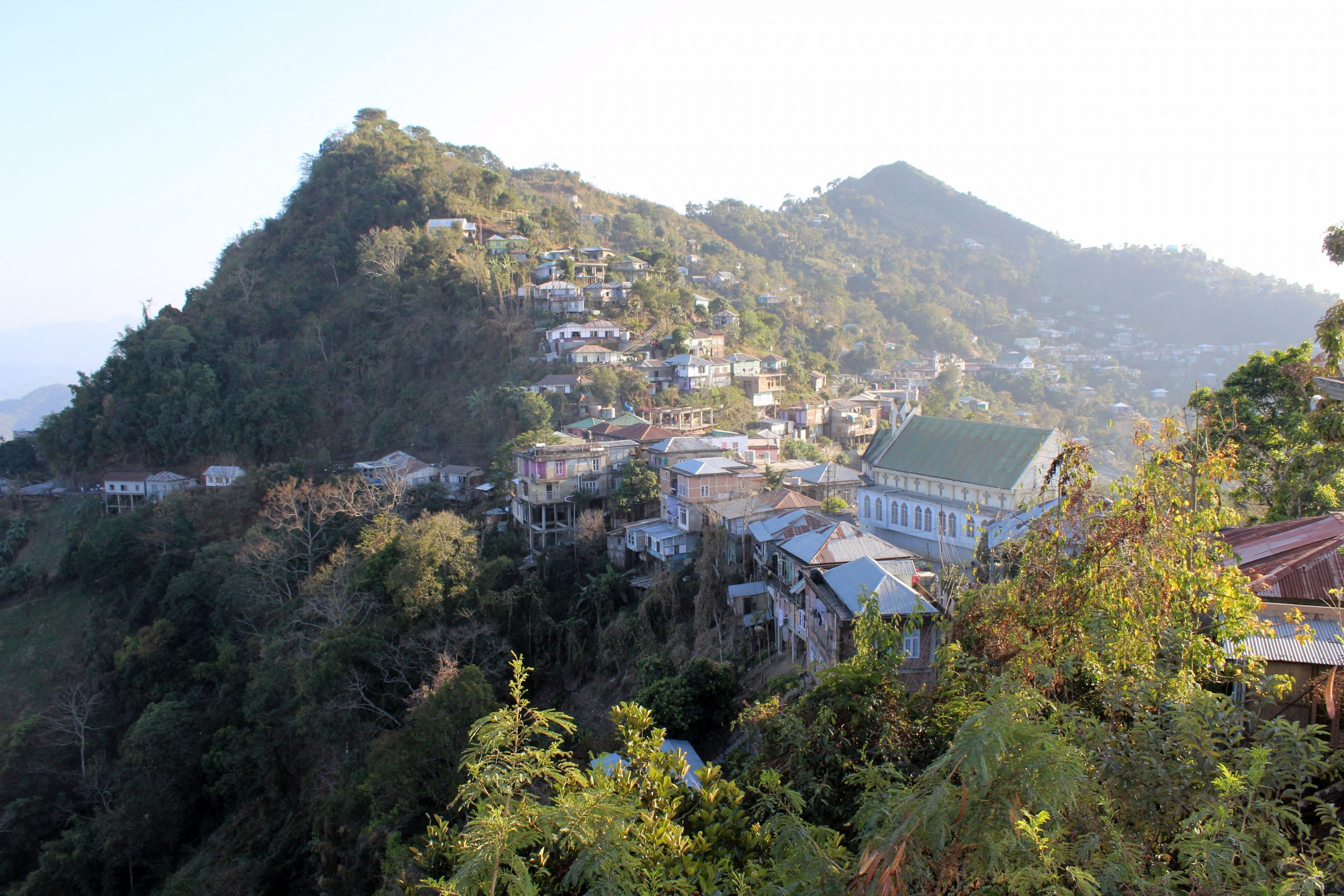 Aizawl Is The Famous Tourist Places in Mizoram