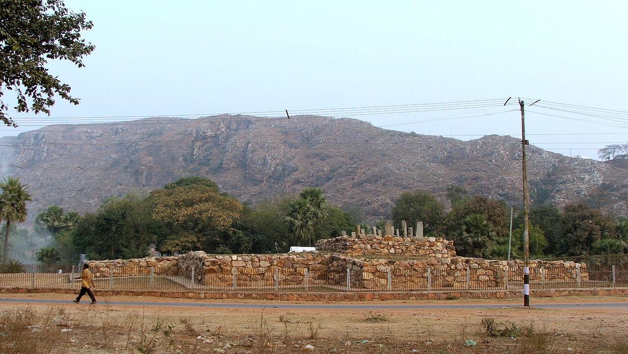 Top Tourist Place In Rajgir, Bihar-Ajatshatru Fort