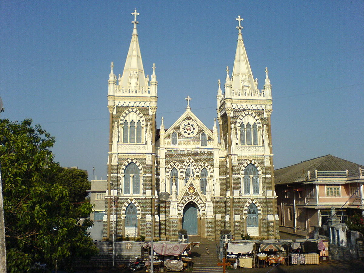 Visit Mount Mary Basilica or Bandra Church
