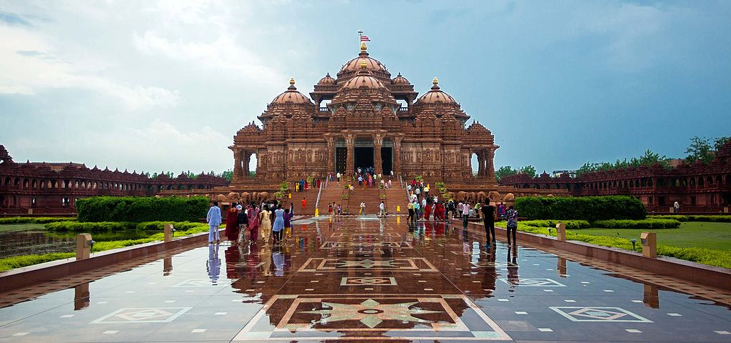 Sightseeing Destination in New Delhi-Akshardham Temple