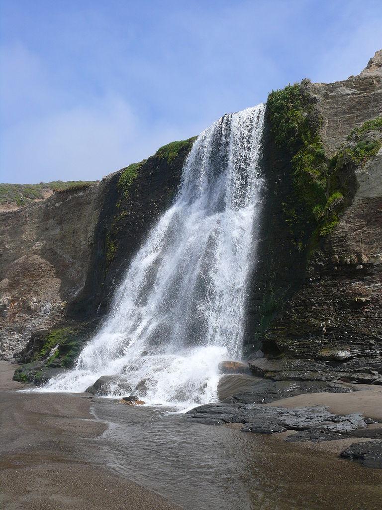 Top Waterfall In California-Alamere falls
