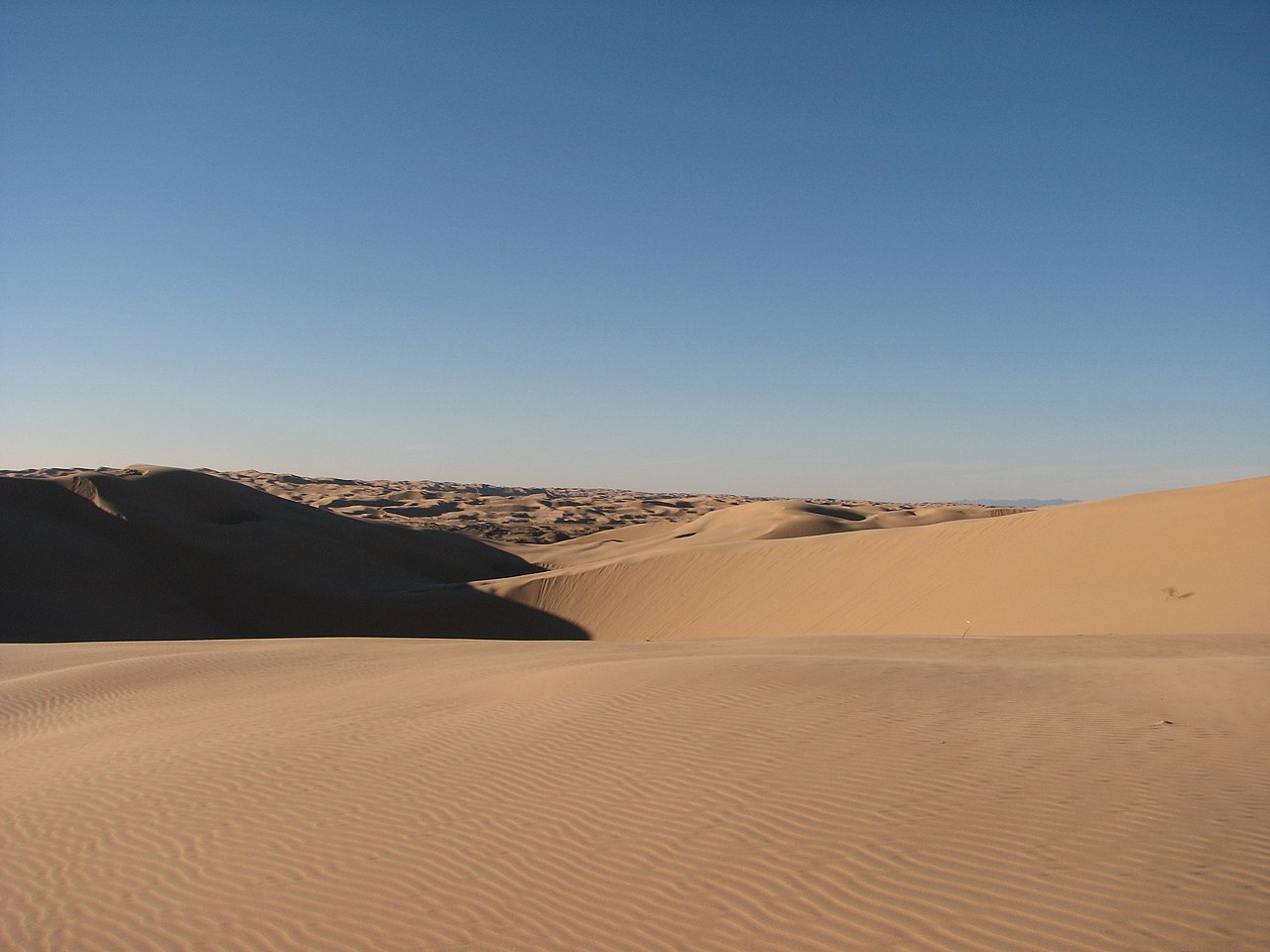 Top Tourist Place In Southern California-Algodones Sand Dunes