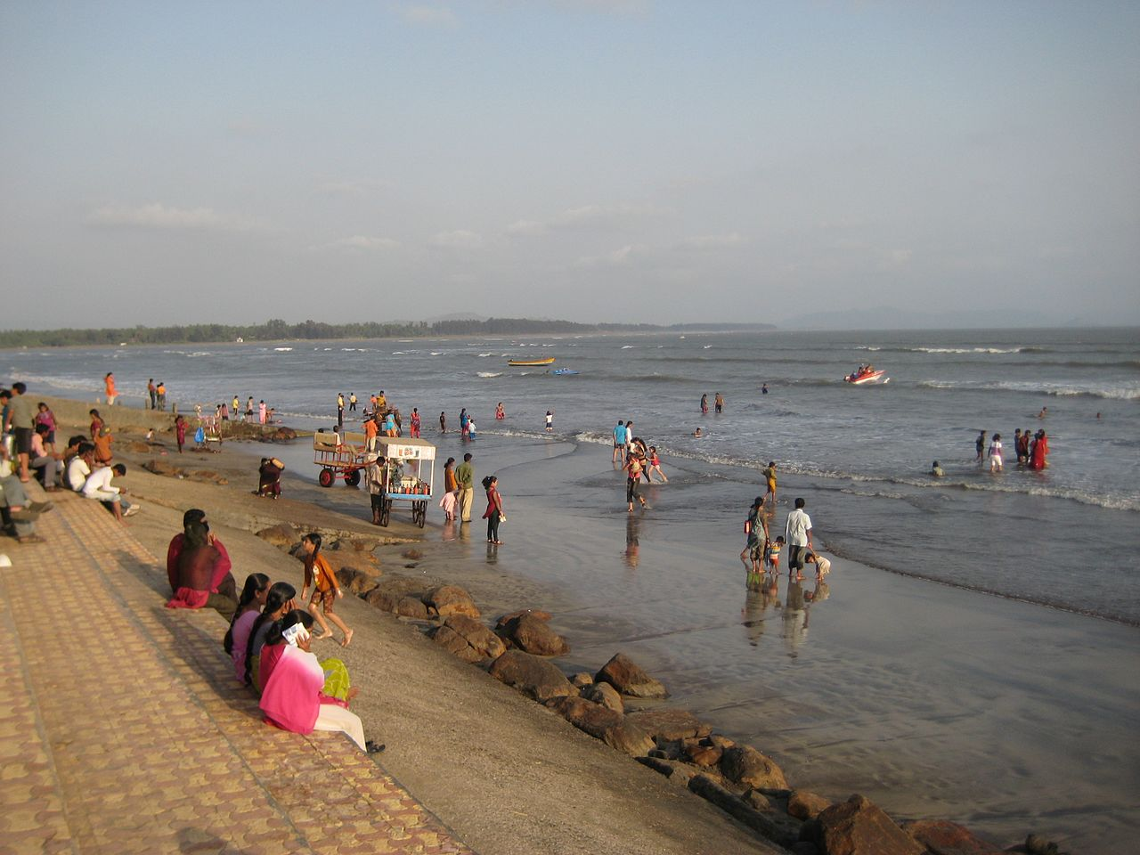 Alibag Beach - Best Place to See Near Surgad Fort
