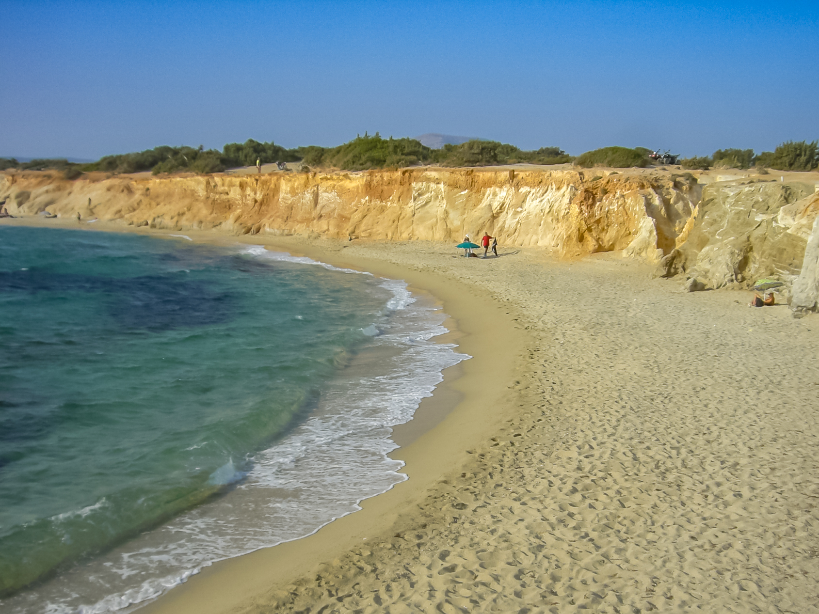 Amazing Place to Visit in Naxos Island-Alyko Beach