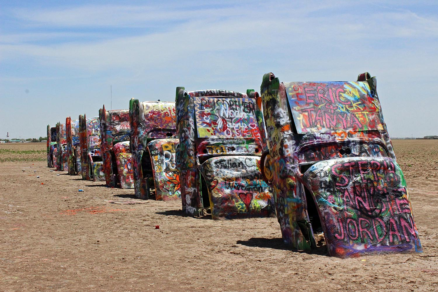 Best Place to Vacation in Texas-Amarillo, Cadillac Ranch
