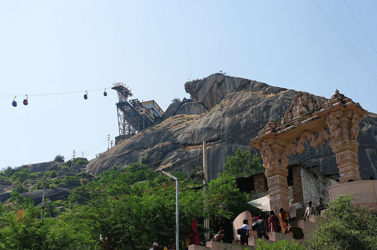 Place to Visit Near Ambaji Temple-Ambaji Temple, Gabbar Hill via a Ropeway