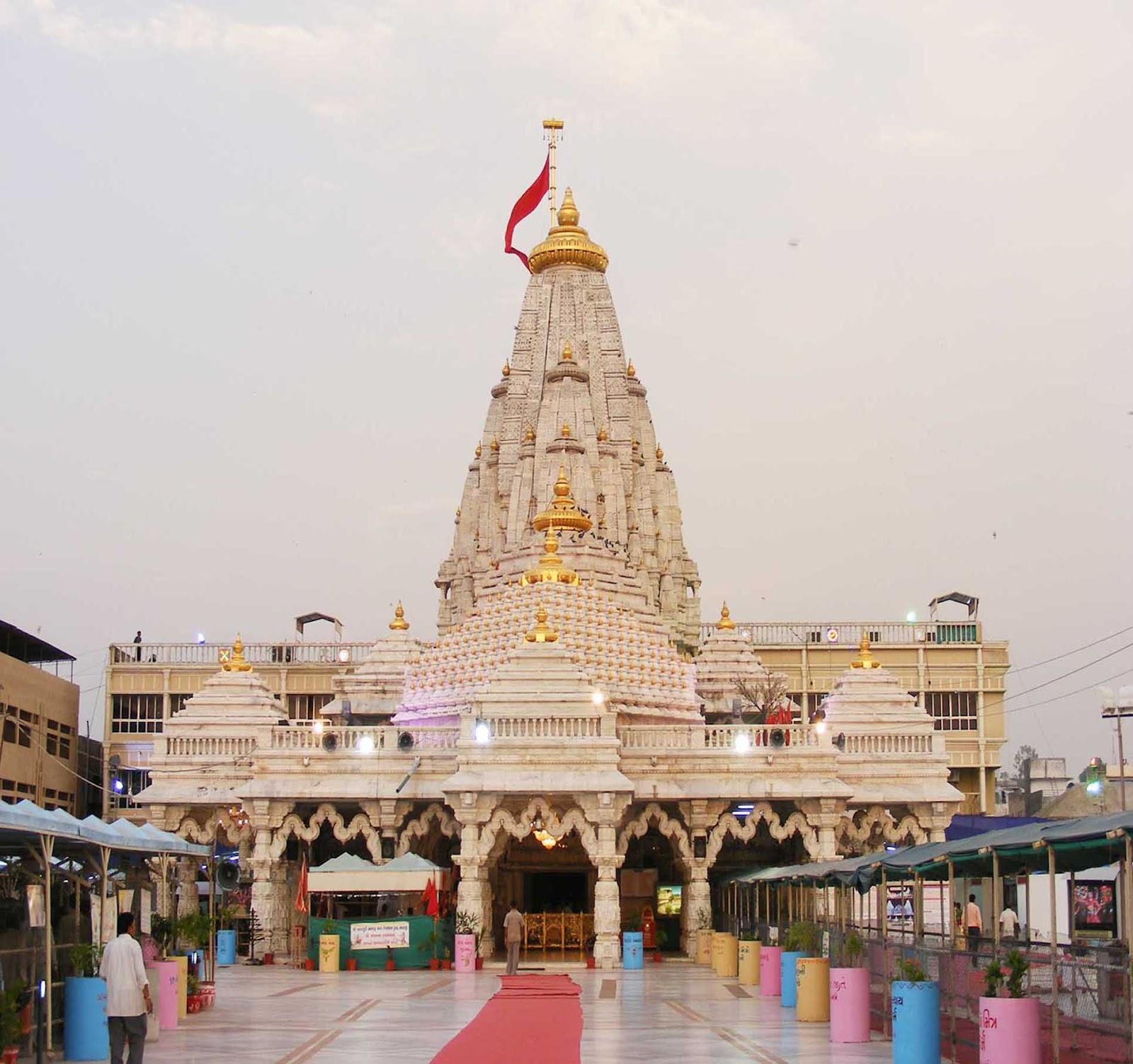 Visit The Ambaji Temple, Gabbar Hills in Gujarat