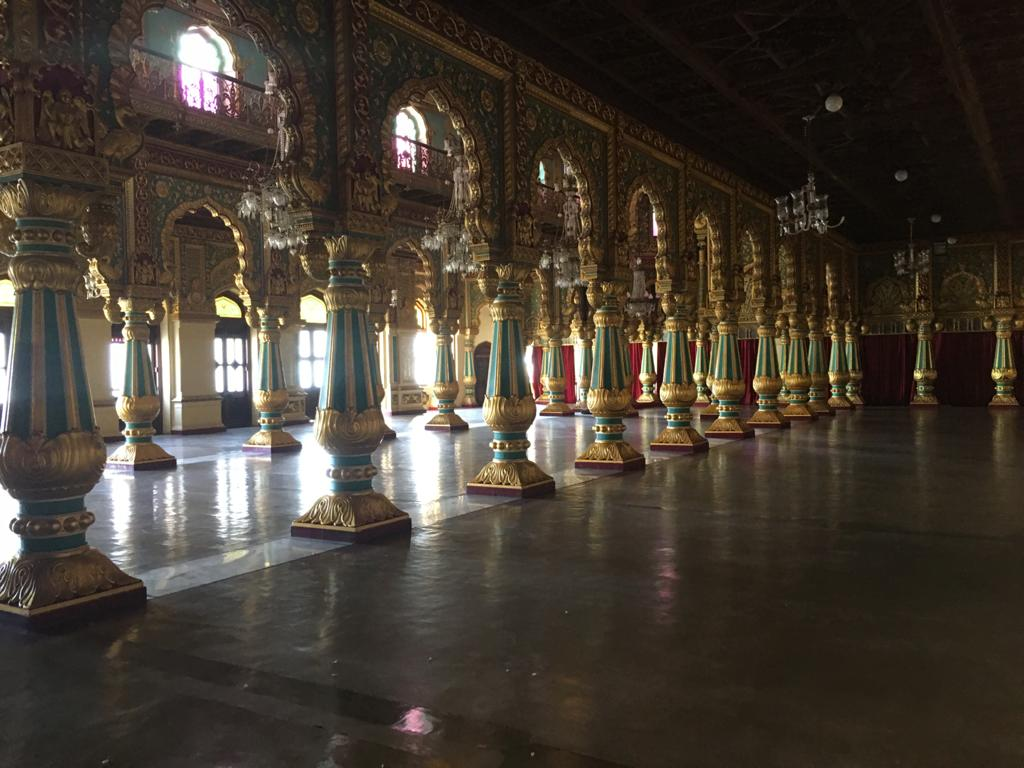 Ambavilasa Hall at Mysore Palace