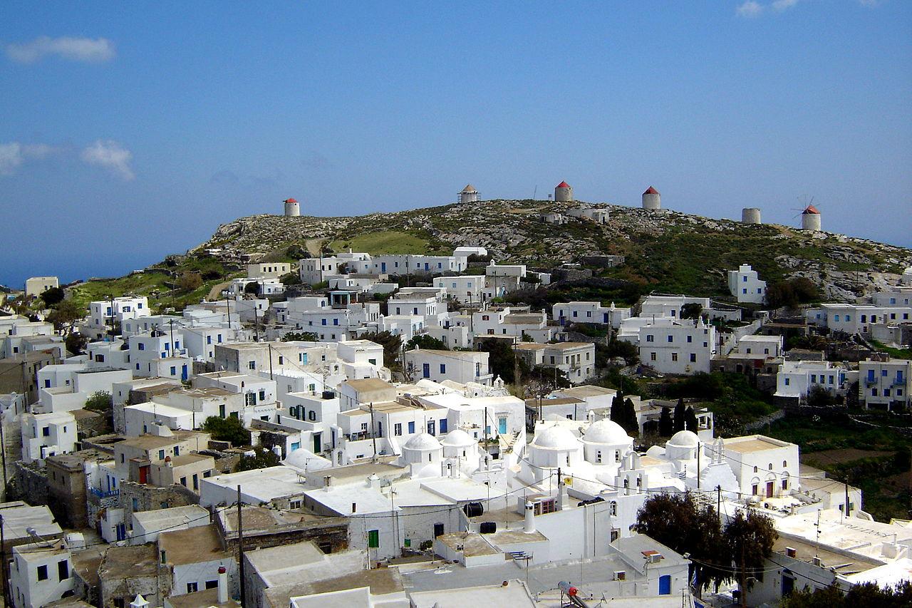 Largest Greek Island-Amorgos