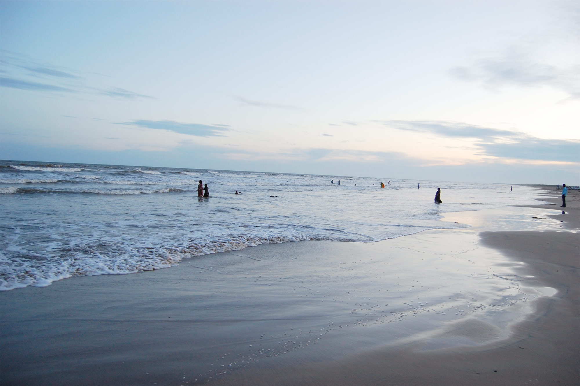 An Excellent Place For Meditation And Relaxation - Manginapudi Beach, Machilipatnam