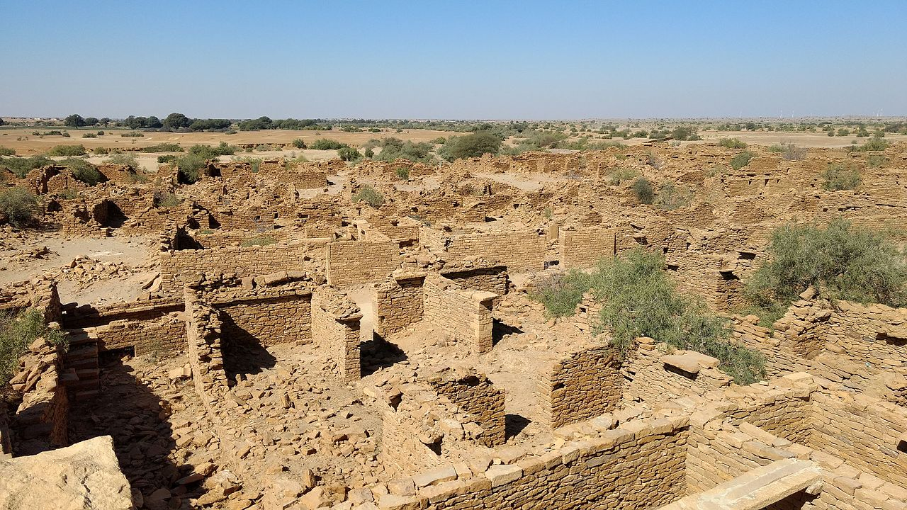 An Insight to the Kuldhara Village, Jaisalmer