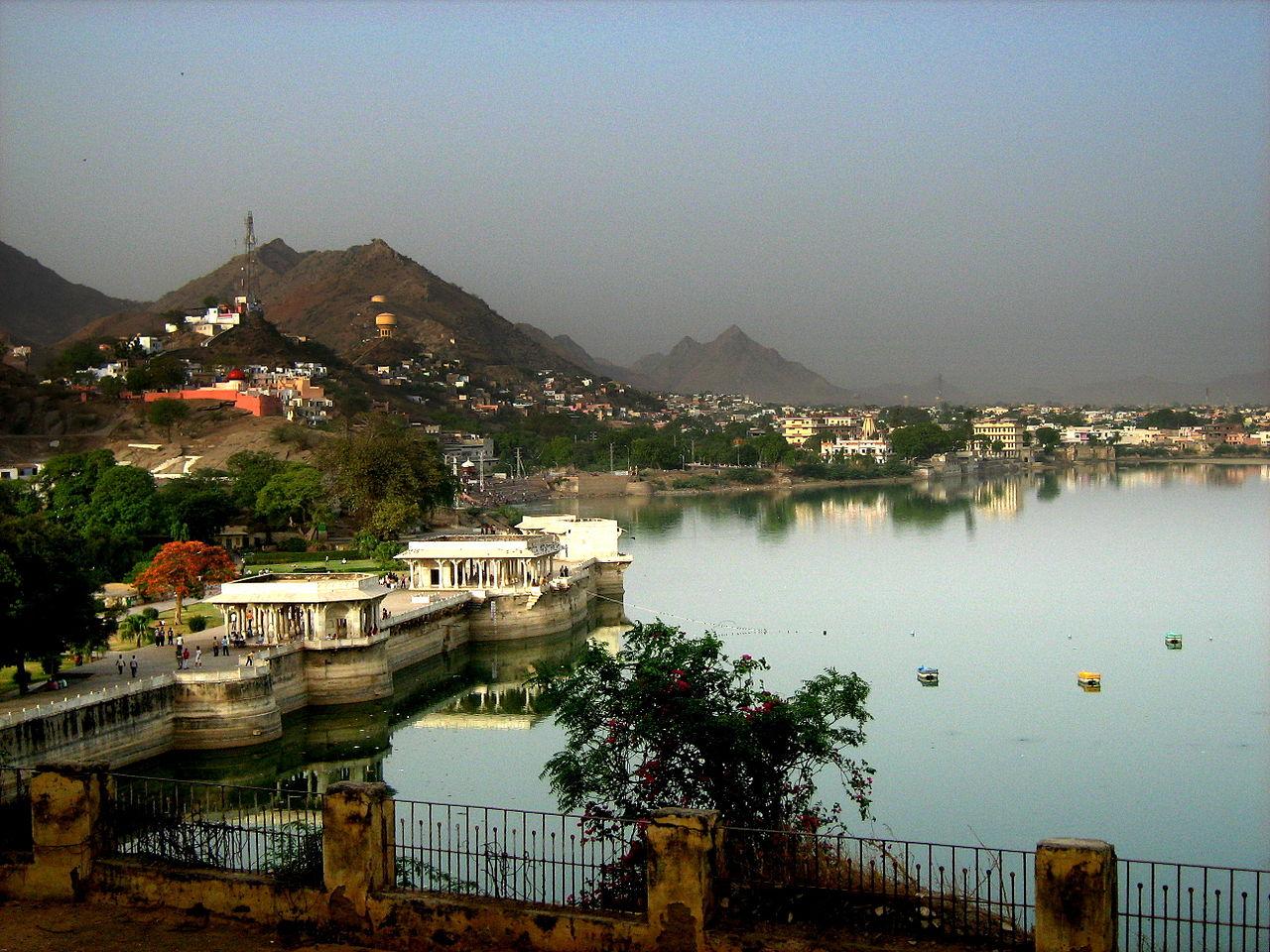 Lake in Rajasthan-Ana Sagar Lake, Ajmer