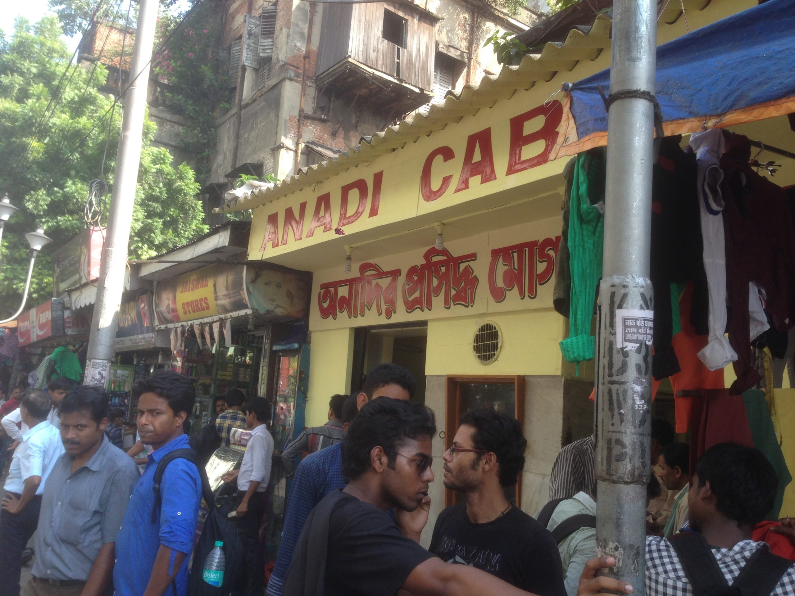 Anadi Cabin - Street Food Shop In Kolkata That Will Make You Drool