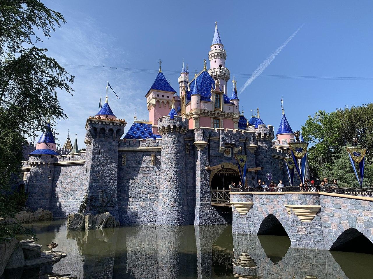 Nice Vacation City in California-Disneyland Park, Anaheim