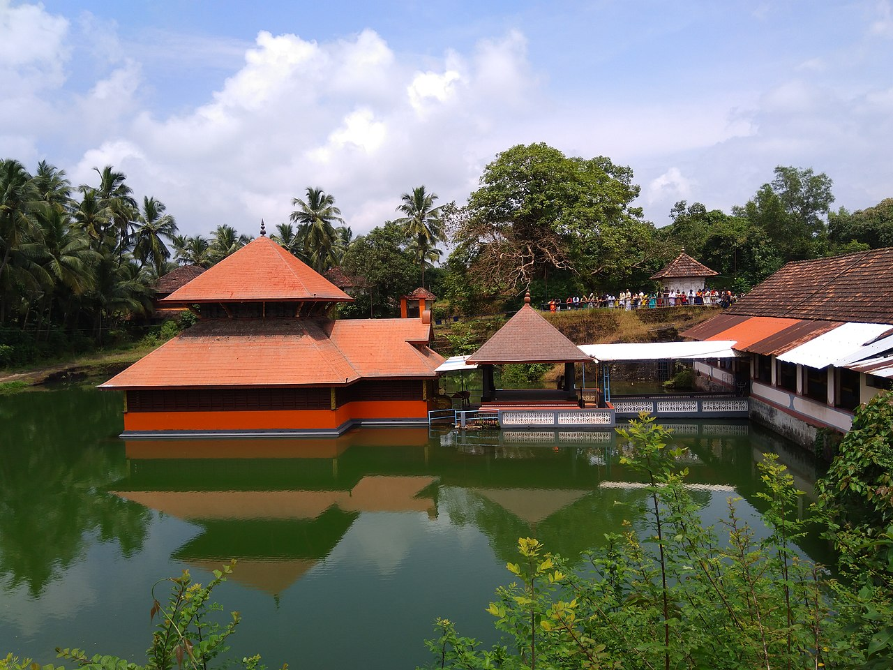 Famous Temple in Kerala-Ananthapura Lake Temple, Kasargod