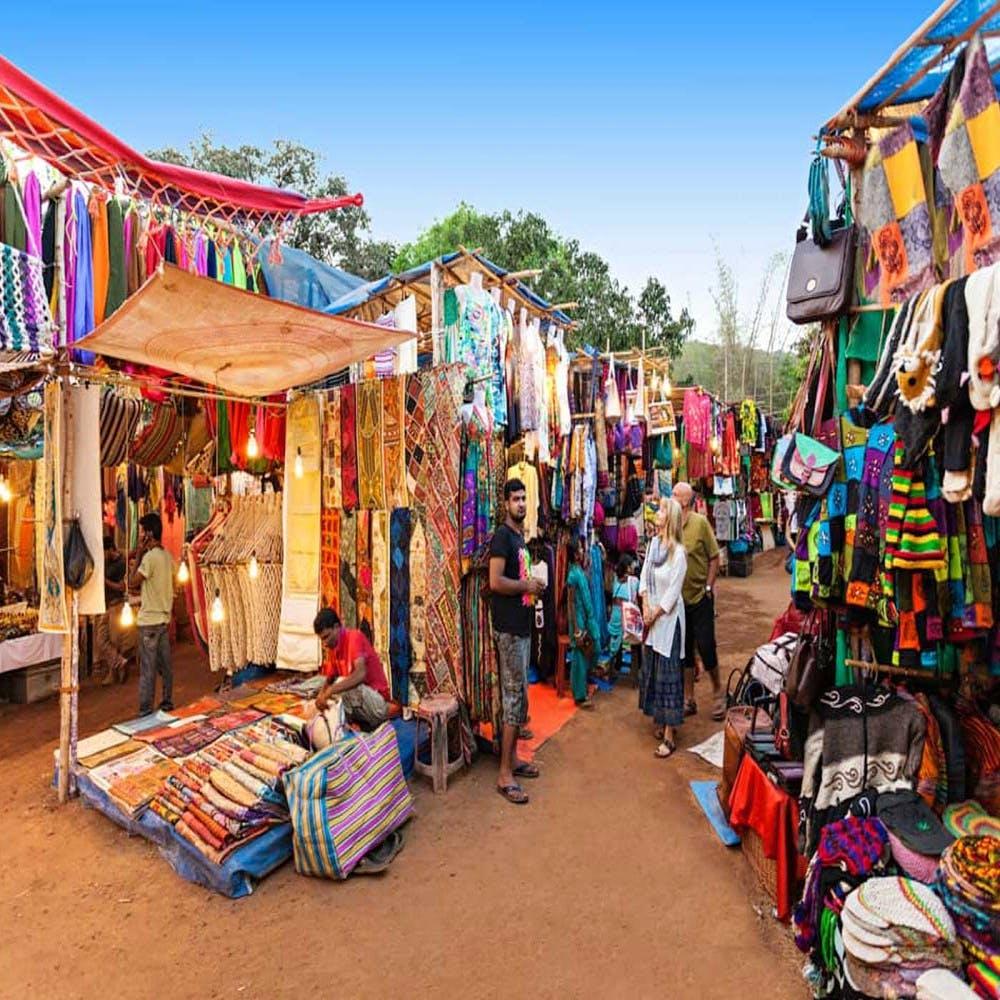 Anjuna Beach Flea Market - Best Places to Shop in Goa