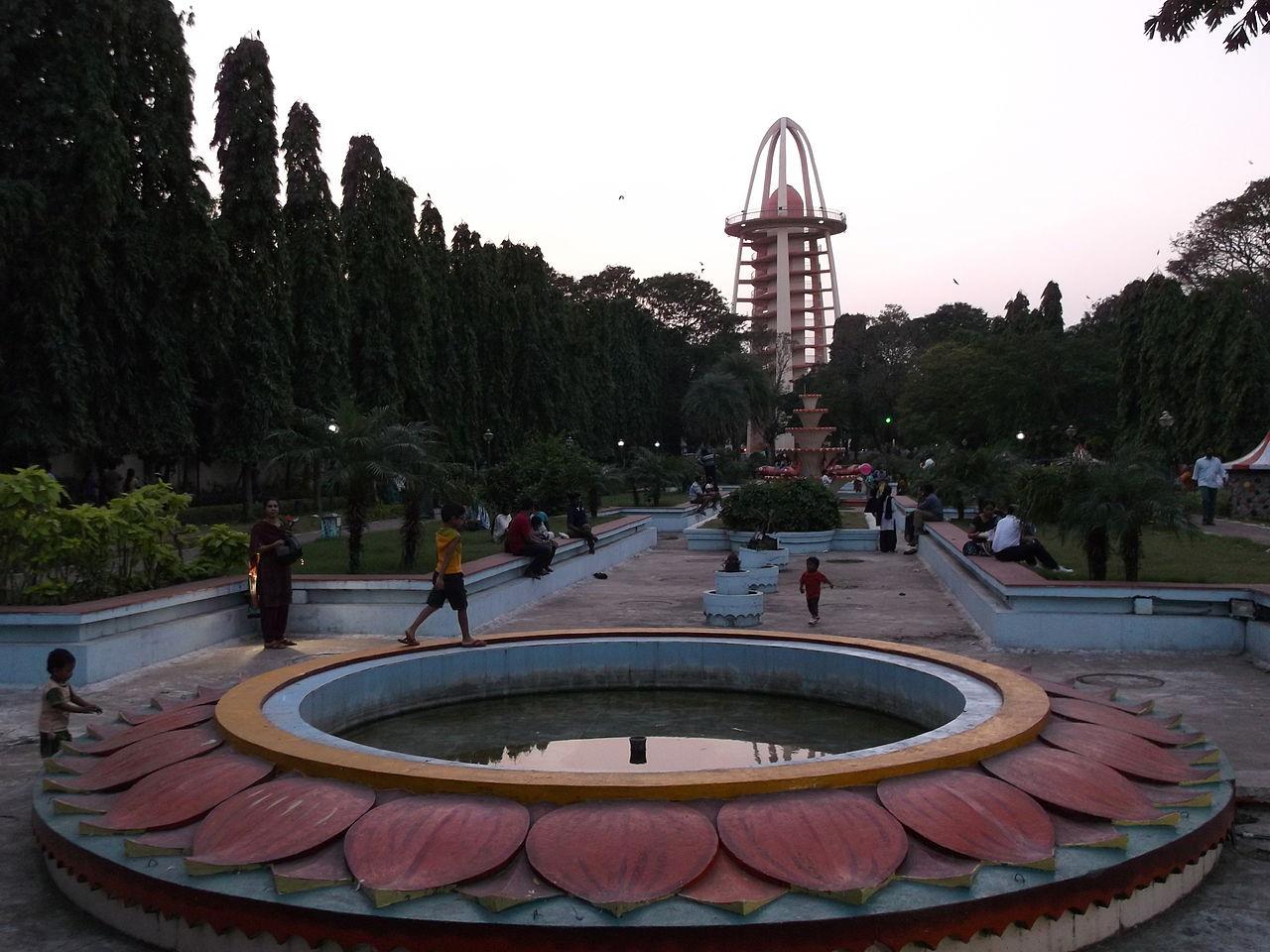 Amazing Park to Visit in Chennai-Anna Nagar Tower Park