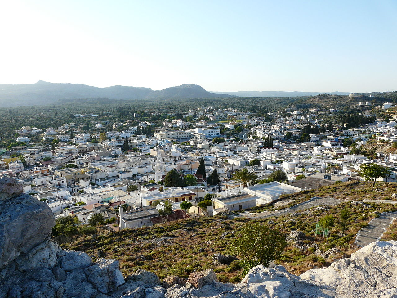 Archangelos Town and Castle: 5th Largest City on Rhodes Island and Named After Archangel Michael (2020)