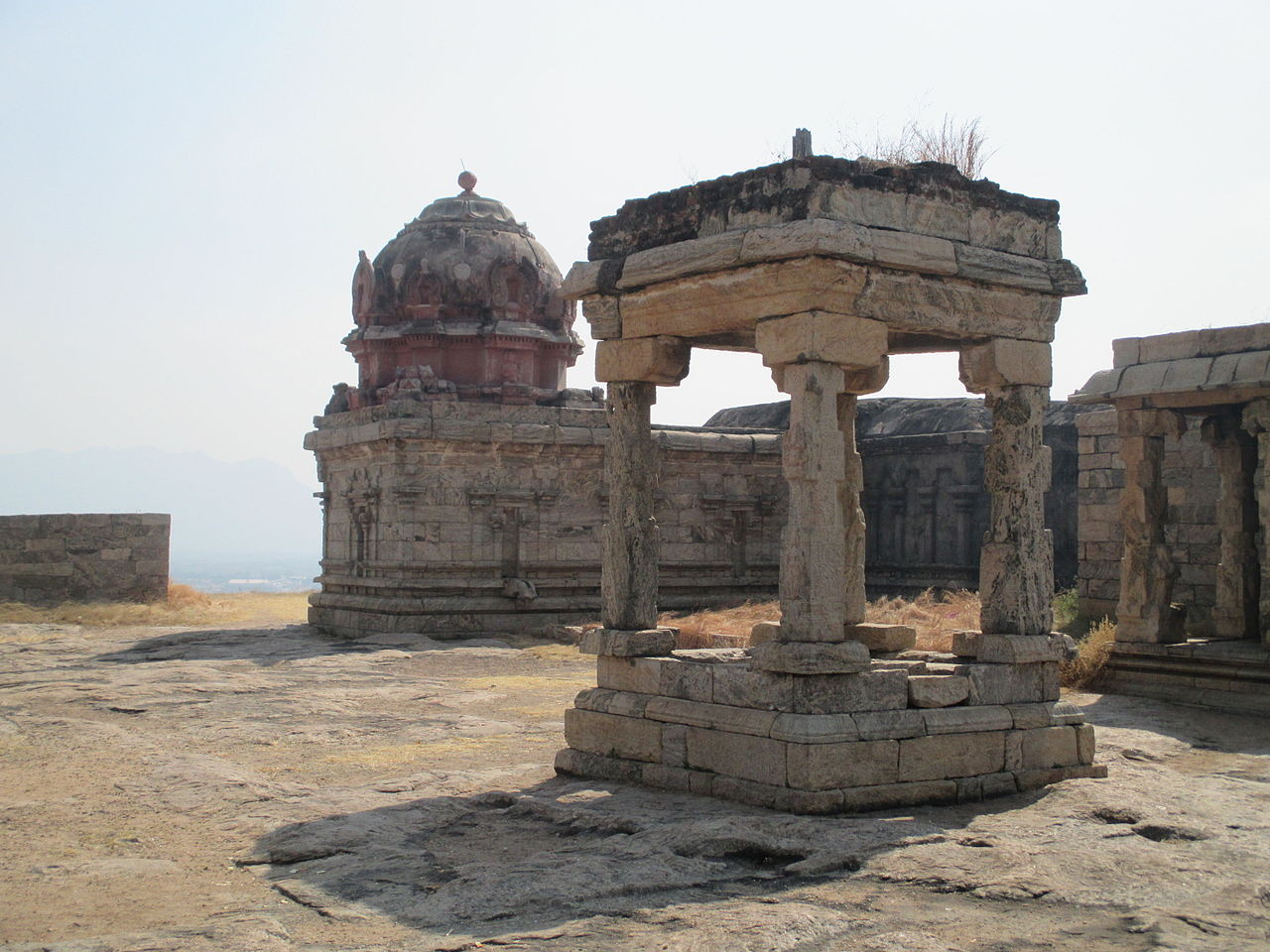 Architecture of the Dindigul Fort, Tamil Nadu