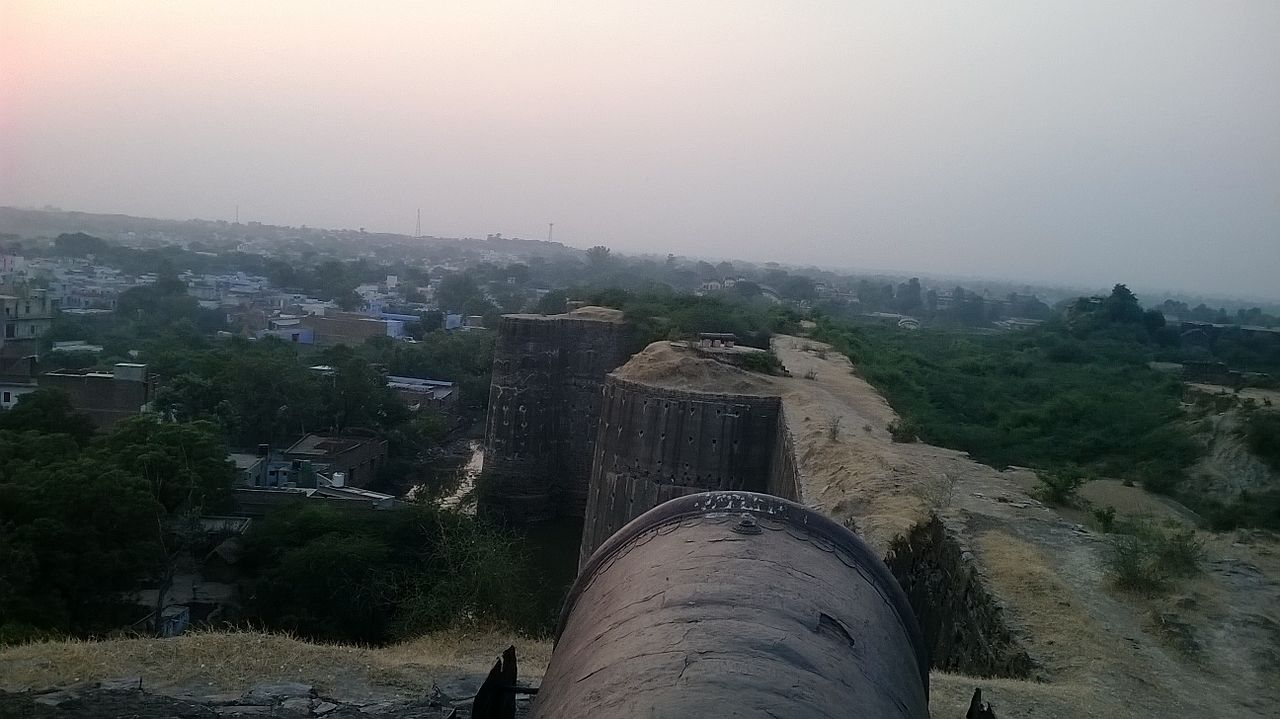 Architecture of the Deeg Fort, Rajasthan