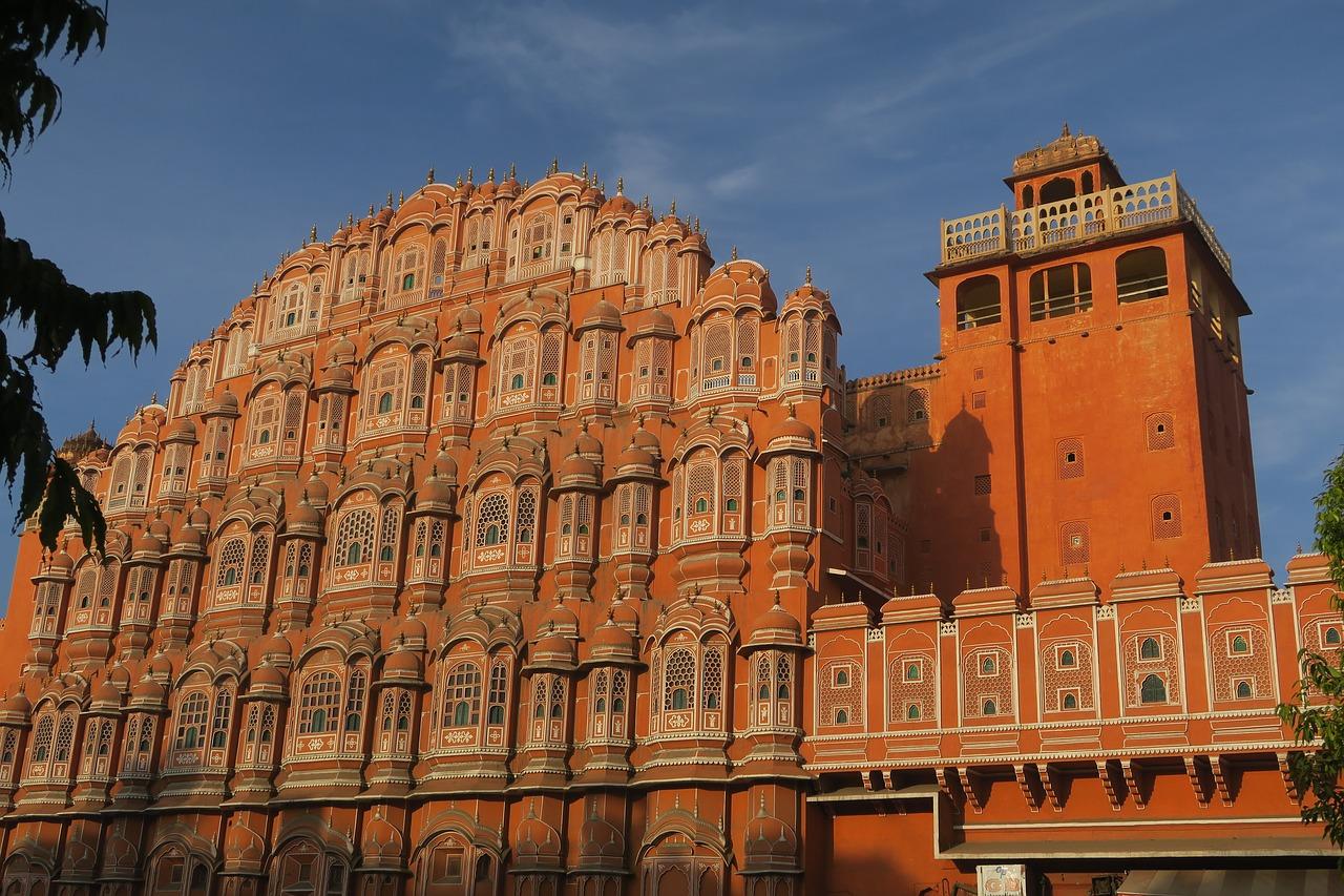 Architecture of the Hawa Mahal, Jaipur