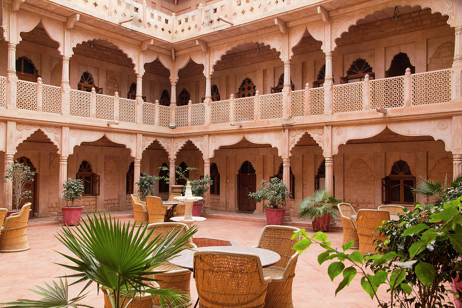 Architecture of the Khimsar fort, Rajasthan