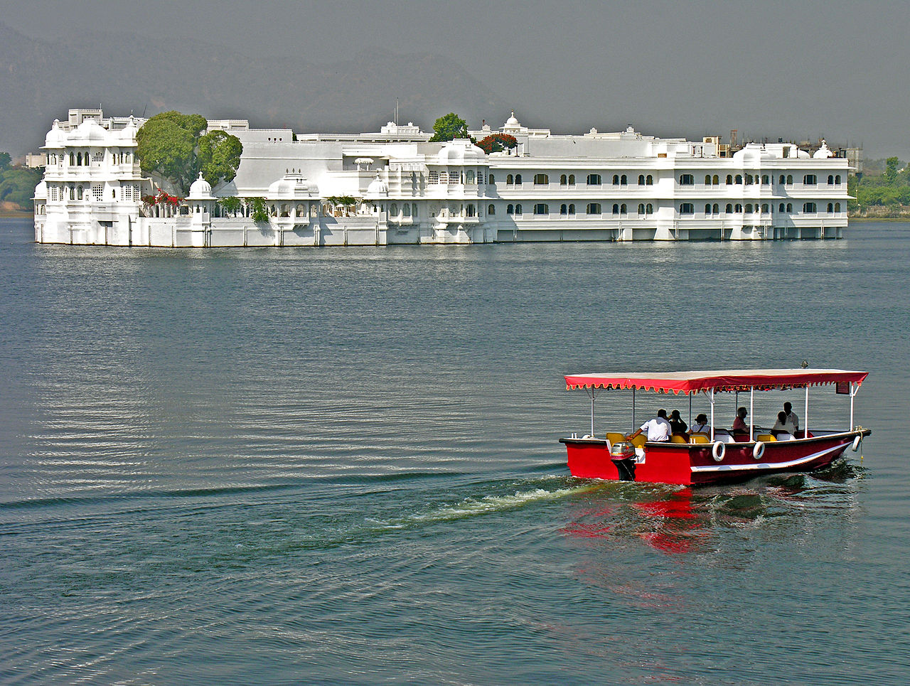 Architecture of the Lake Palace, Udaipur