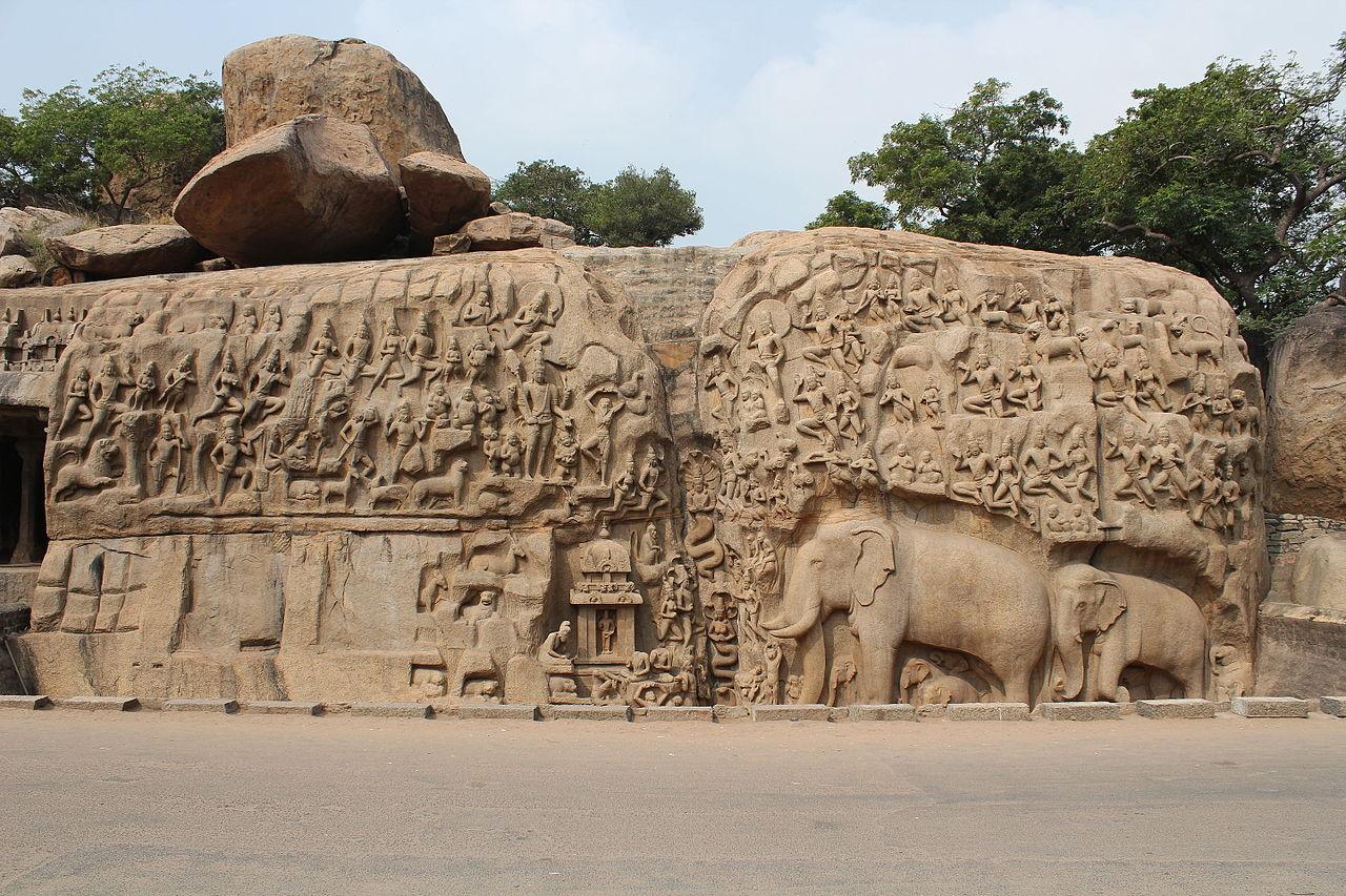 Sightseeing Place to Visit In Mahabalipuram-Arjuna's Penance