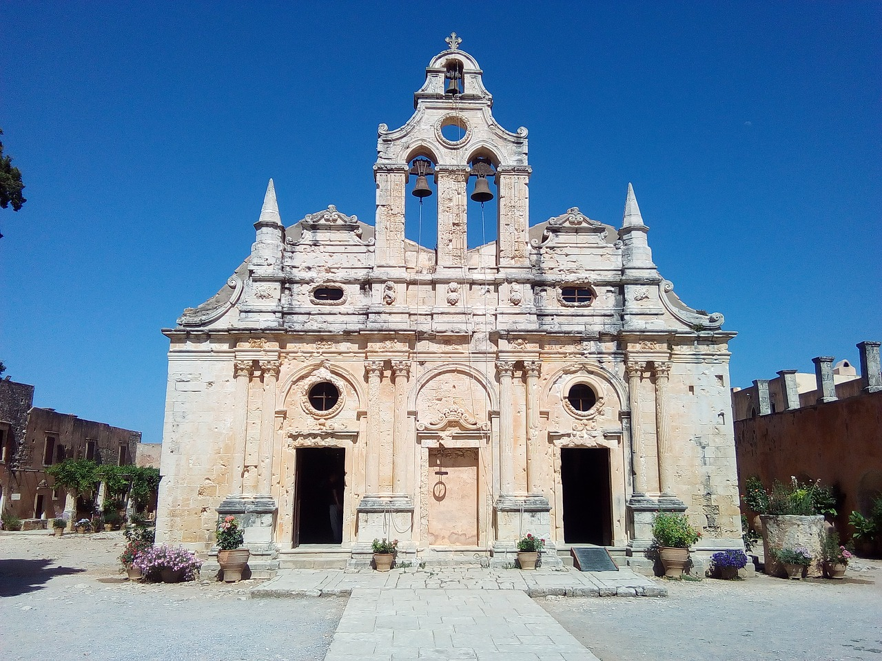 Increible Place To Visit in Crete Islands-Arkadi Monastery