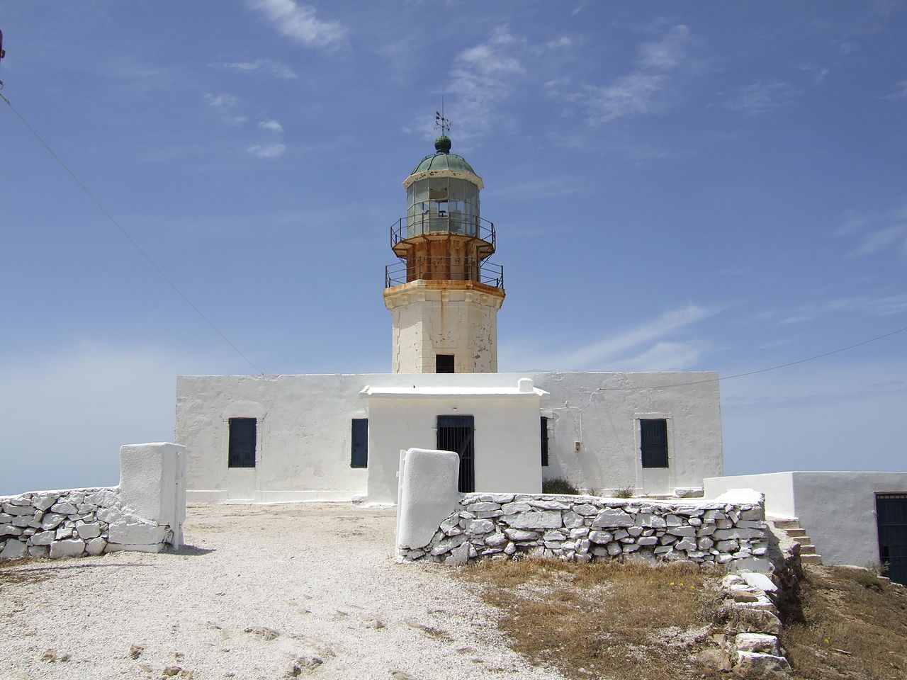Top Visiting Place in Mykonos Island, Greece-Armenistis Lighthouse