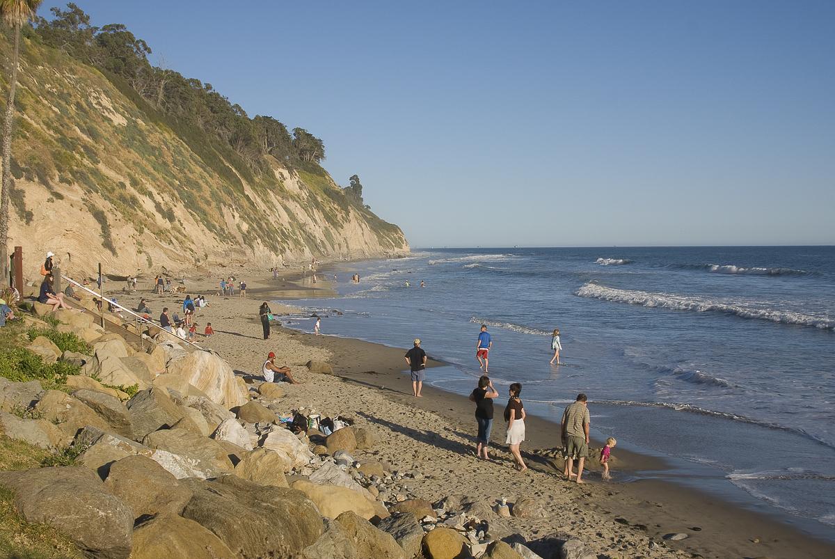 Arroyo Burro Beach or the Hendry's Beach