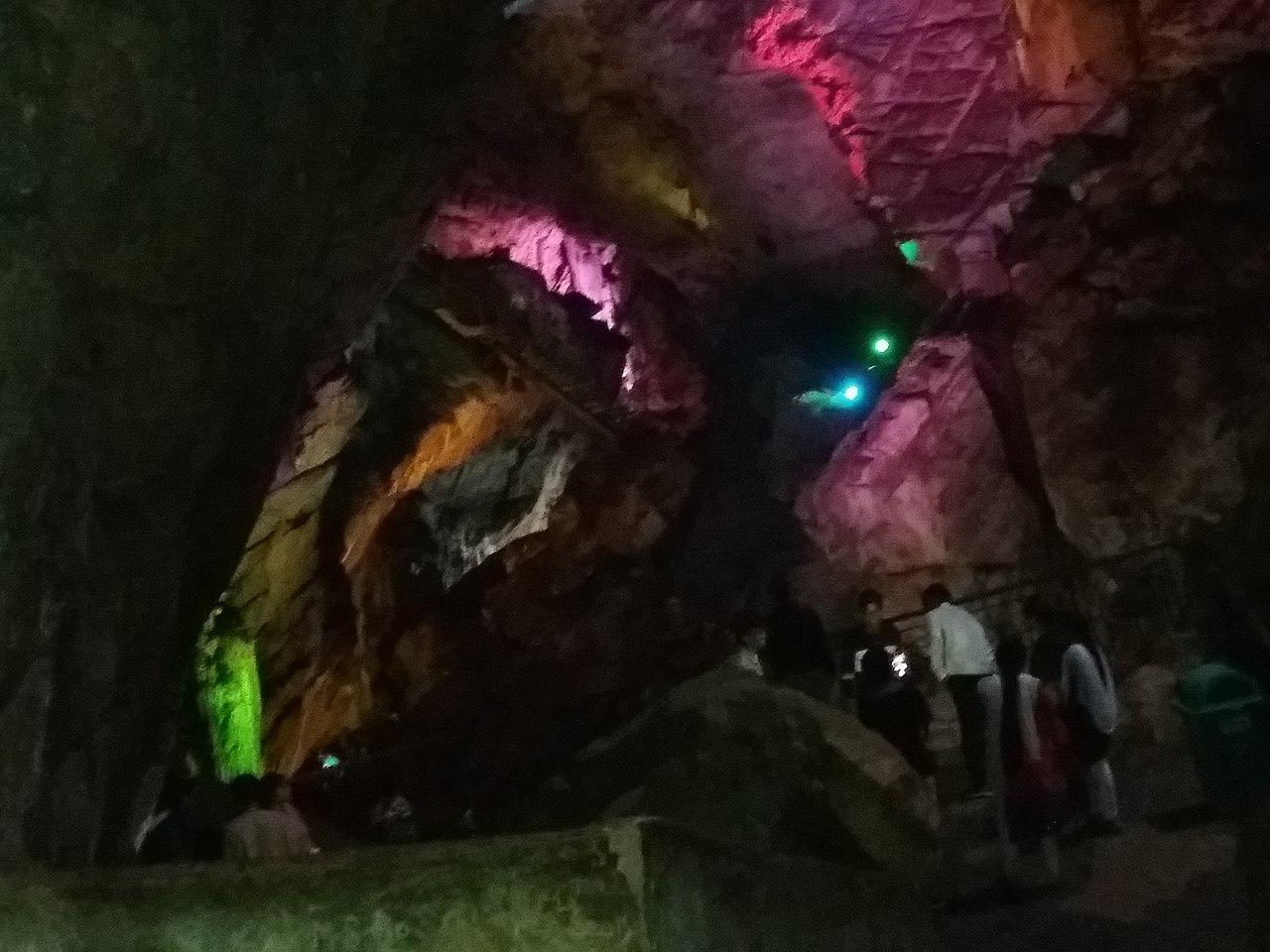 Attractions at the Borra Caves in Araku Valley, Visakhapatnam, Andhra Pradesh