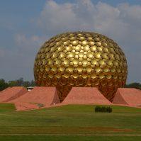 Auroville In Viluppuram Puducherry, Tamil Nadu