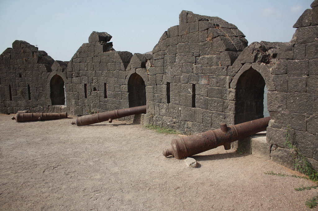 Structures Inside Avchitgad Fort