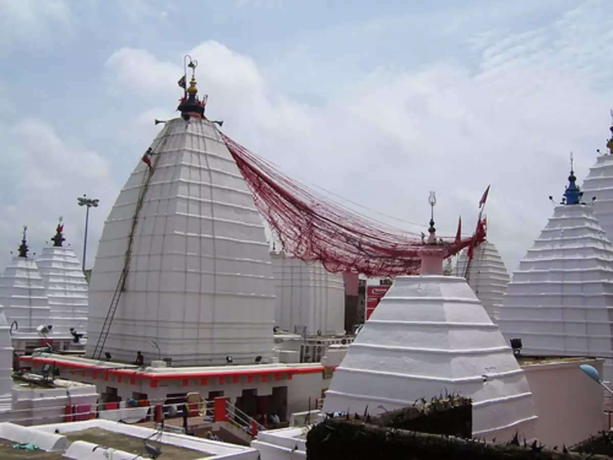 Baba Baidyanath temple or Vaidyanatha Jyotirlinga temple in Deoghar