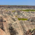 Badlands National Park in South Dakota