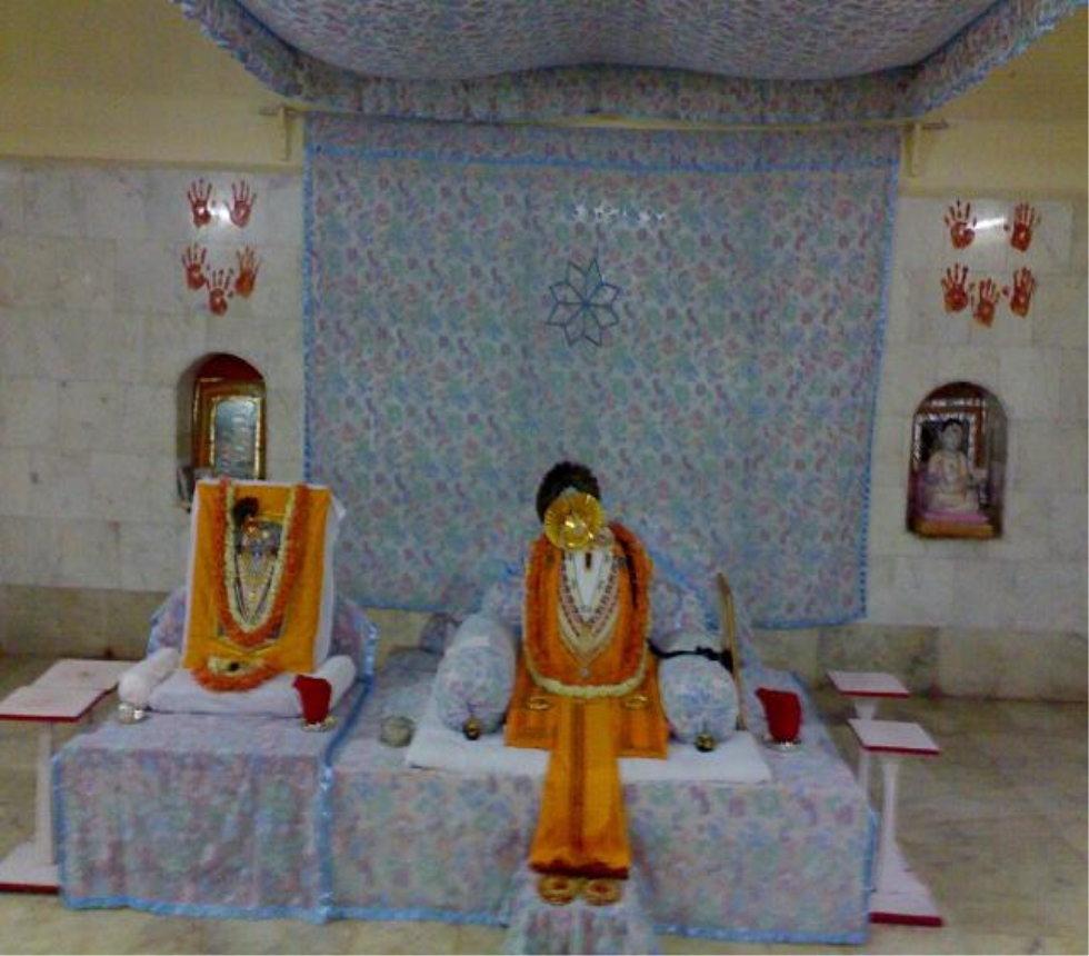 Sightseeing Place to Visit In Vaishali, Bihar-Shri Mahaprabhuji or Swami Vallabhacharya, Baithakji Hajipur