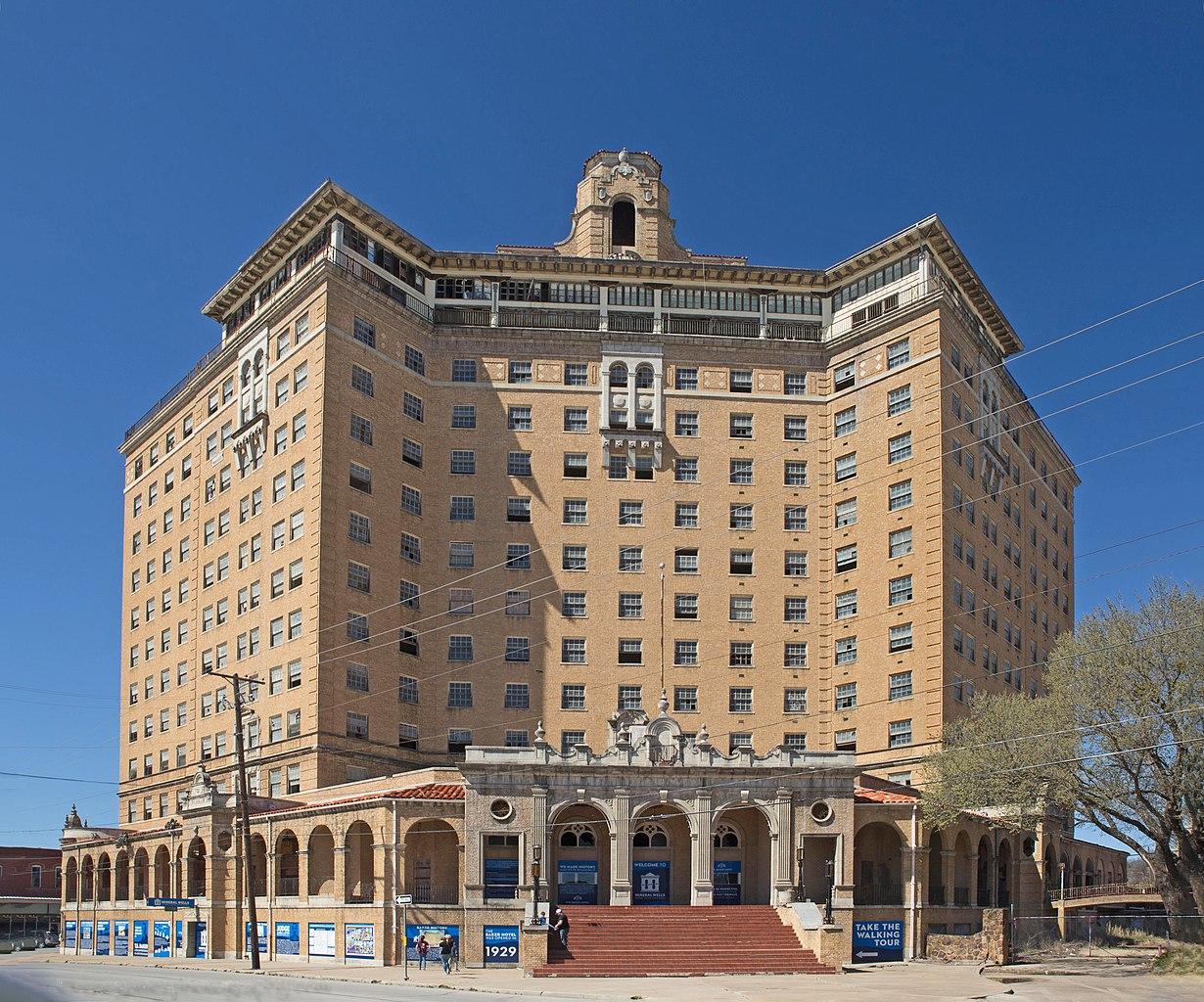 Baker Hotel in Texas