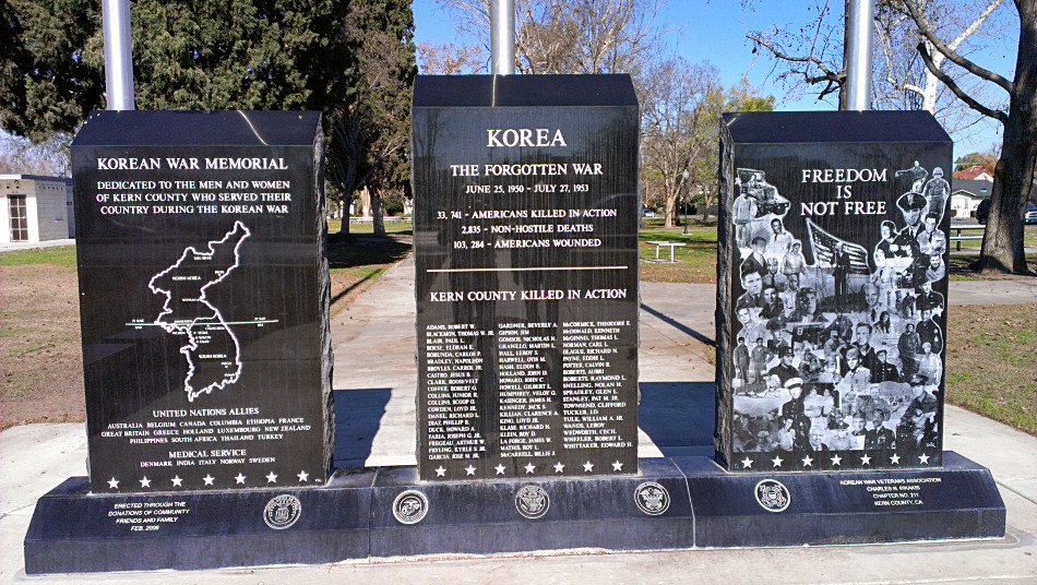 Popular Historical Place to Visit in Bakersfield-Bakersfield Korean War Memorial