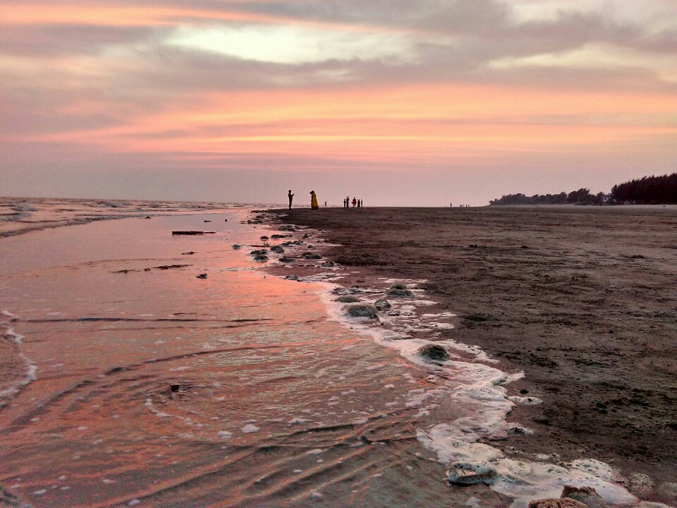 Beach in West Bengal-Bakkhali Beach