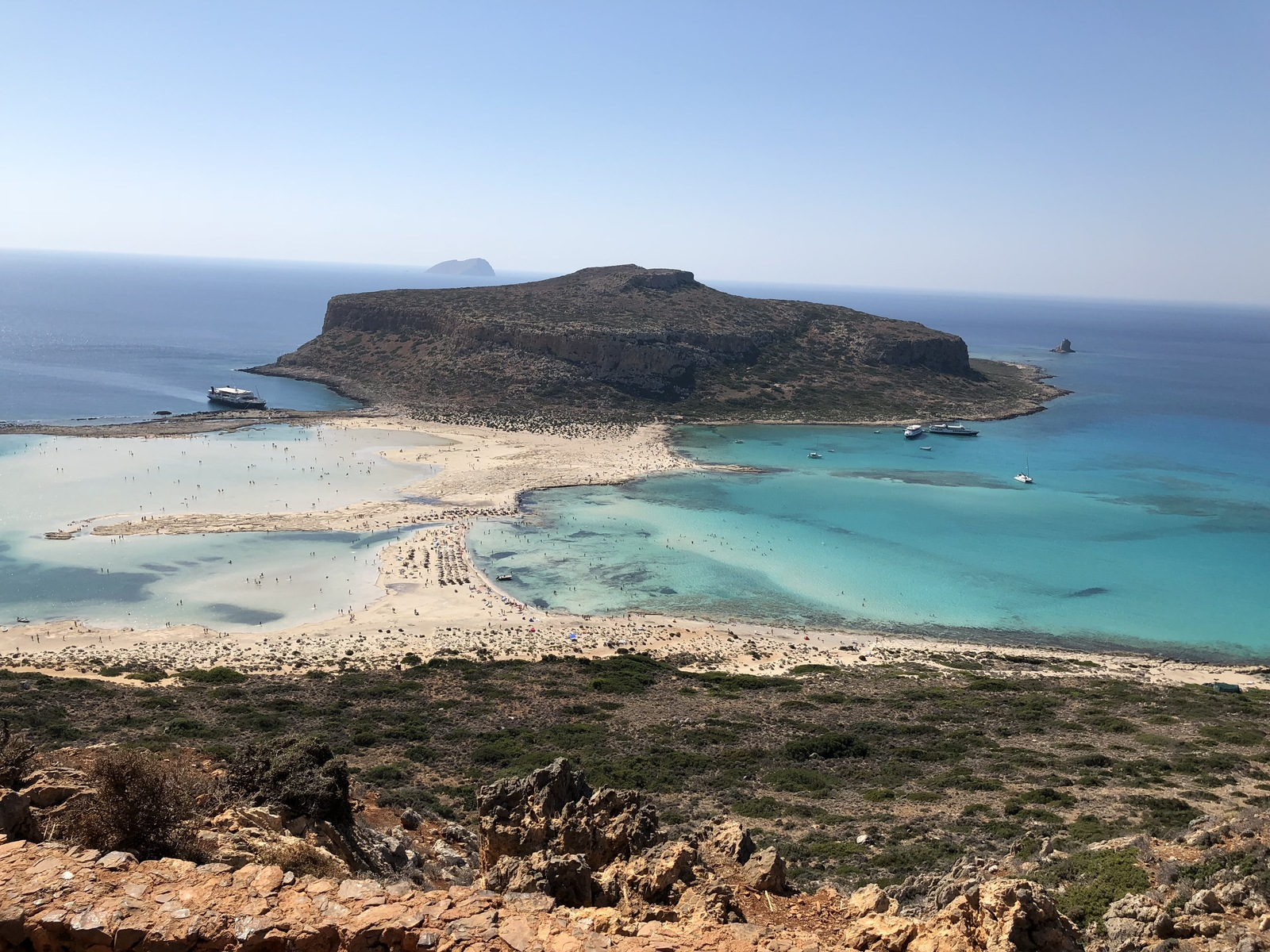 Sightseeing place to visit in Crete Islands-Balos Lagoon