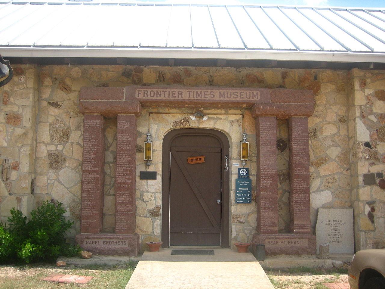 Popular Road Trip Destinations in San Antonio-Bandera, Frontier Times Museum