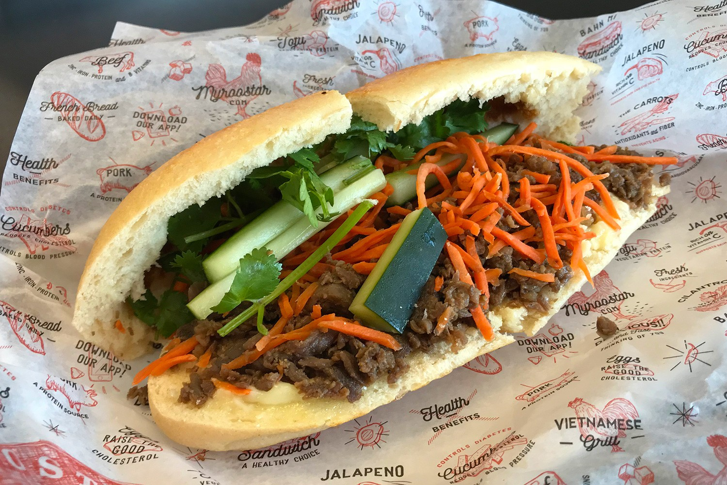 Best Food in Houston-Banh Mi