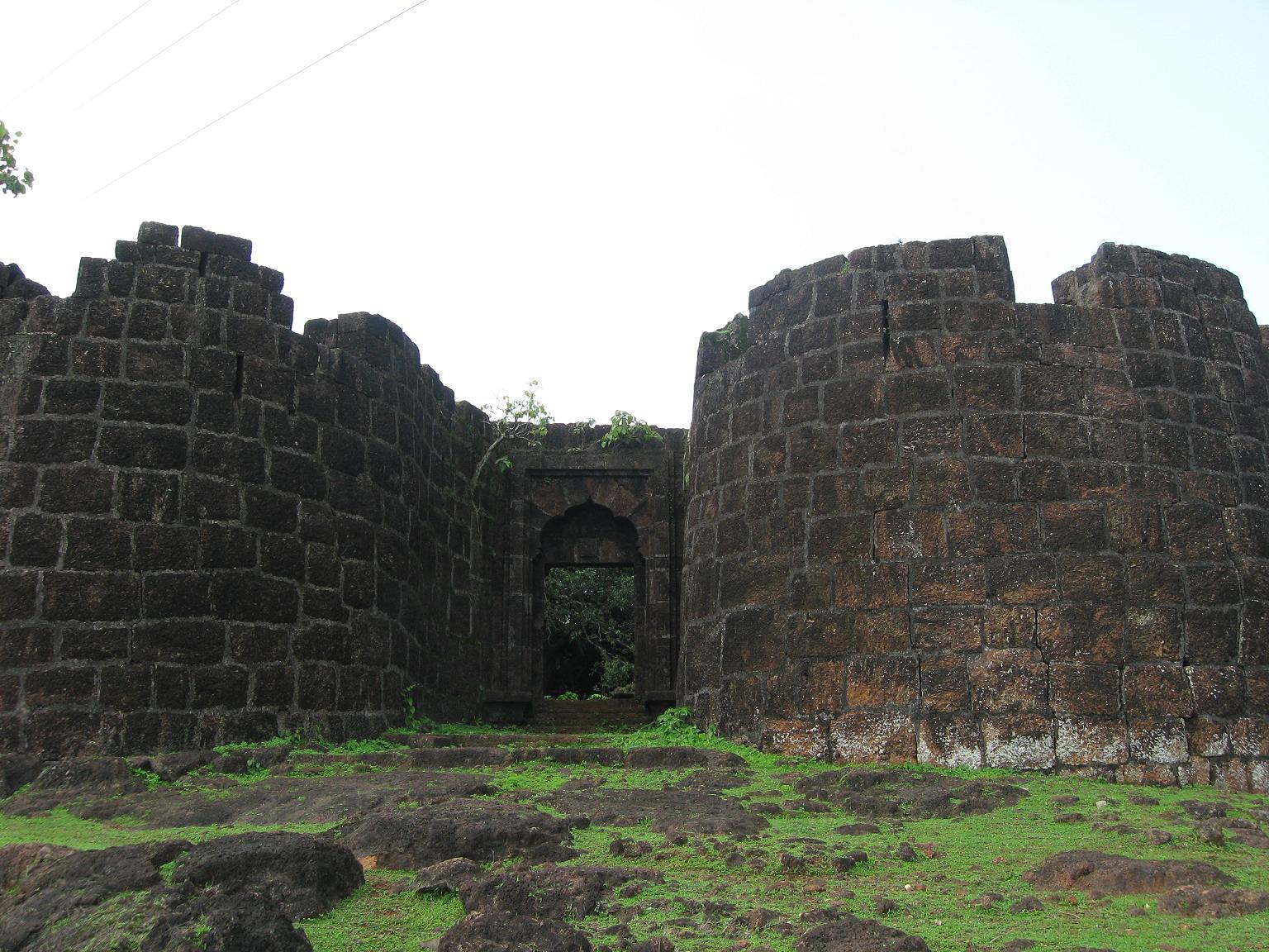 Bankot Fort - Where the Savitri River Meets the Arabian Sea